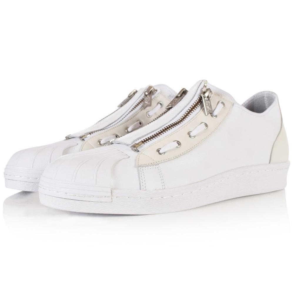 ADIDAS Y-3 Adidas Y-3 Super Zip White