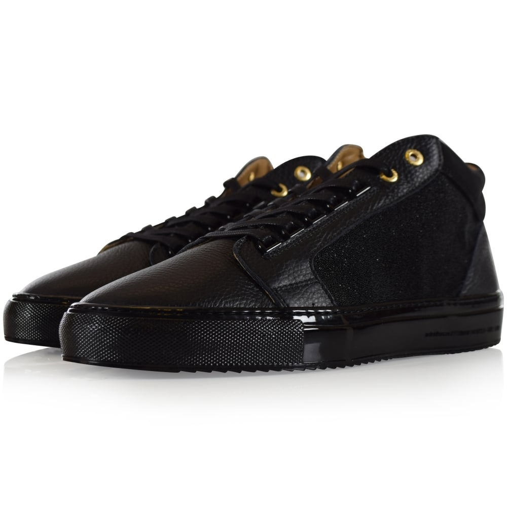 Android Homme Android Homme Black Propulsion Mid Trainers Men From Brother2brother Uk