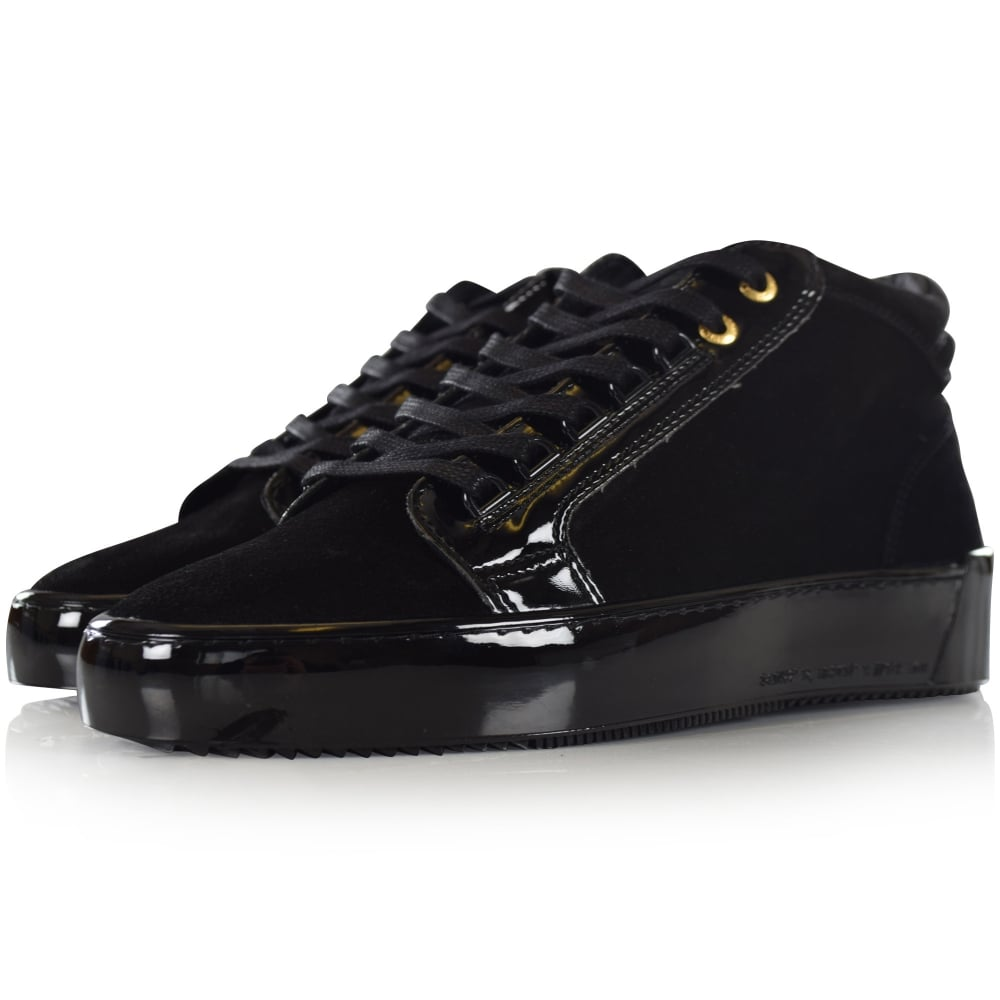 ANDROID HOMME Android Homme Black Suede
