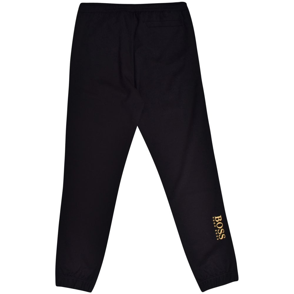 BOSS Hadiko Sweatpant in Black /& Gold