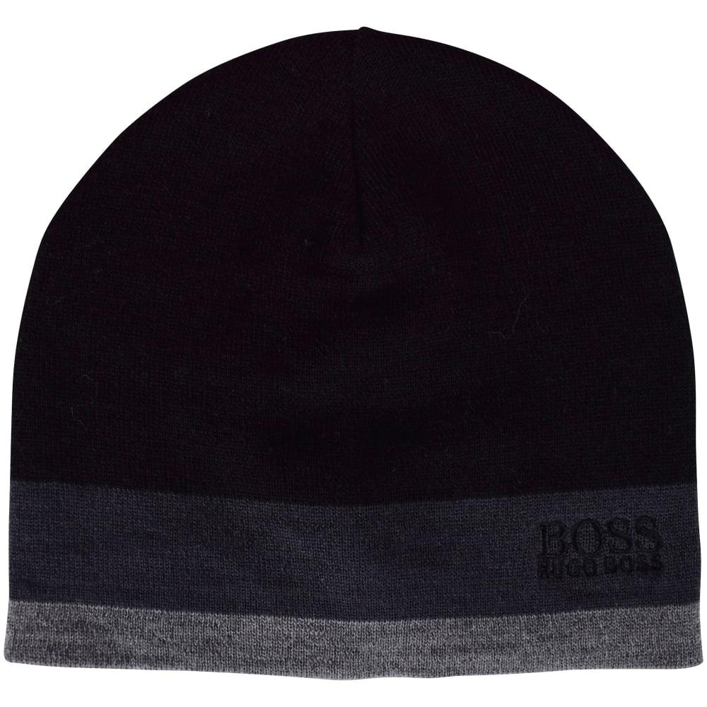 b31040879c9c2 HUGO BOSS ACCESSORIES Hugo Boss Accessories Black Grey Stripe Logo ...