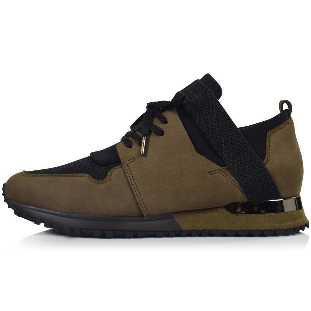 MALLET FOOTWEAR Black/Khaki Elast BTLR