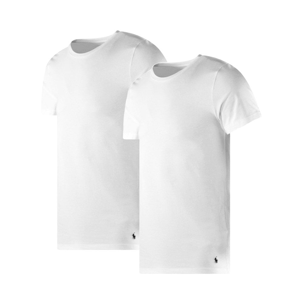 POLO RALPH LAUREN 2 Pack White T-Shirts