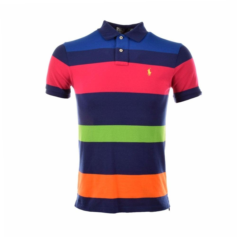 POLO RALPH LAUREN Mens Lot of 3 Mesh Polo Shirts Multi Color