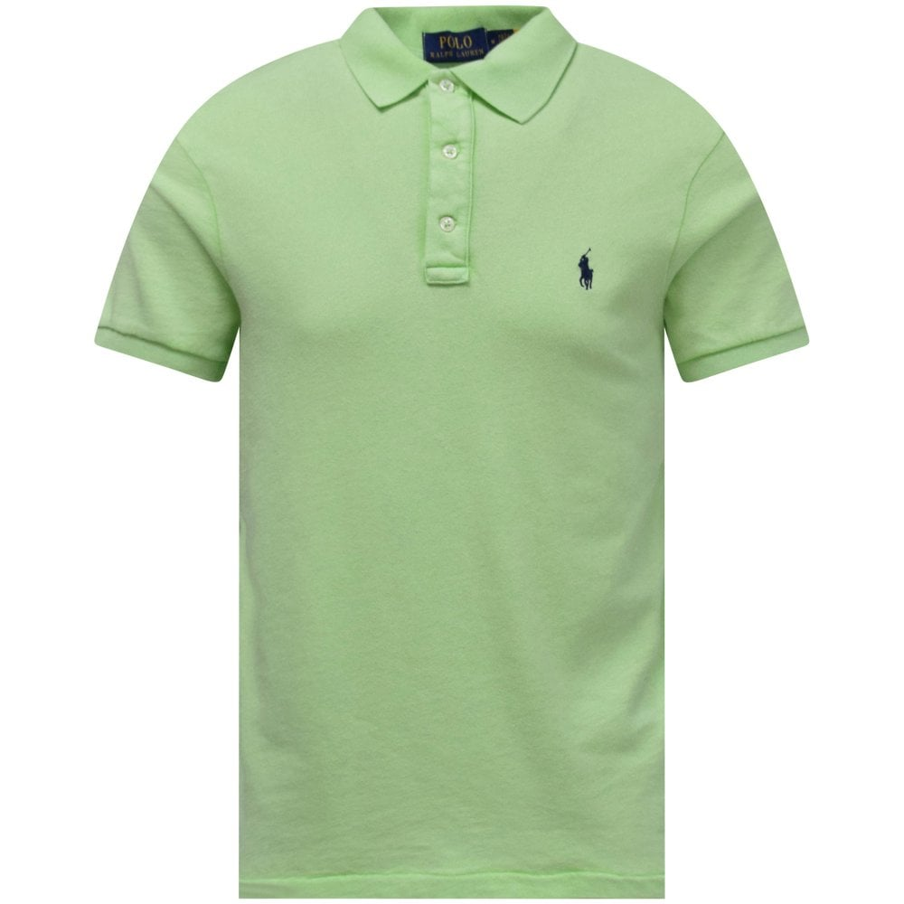 POLO RALPH LAUREN Mint Green Polo Shirt