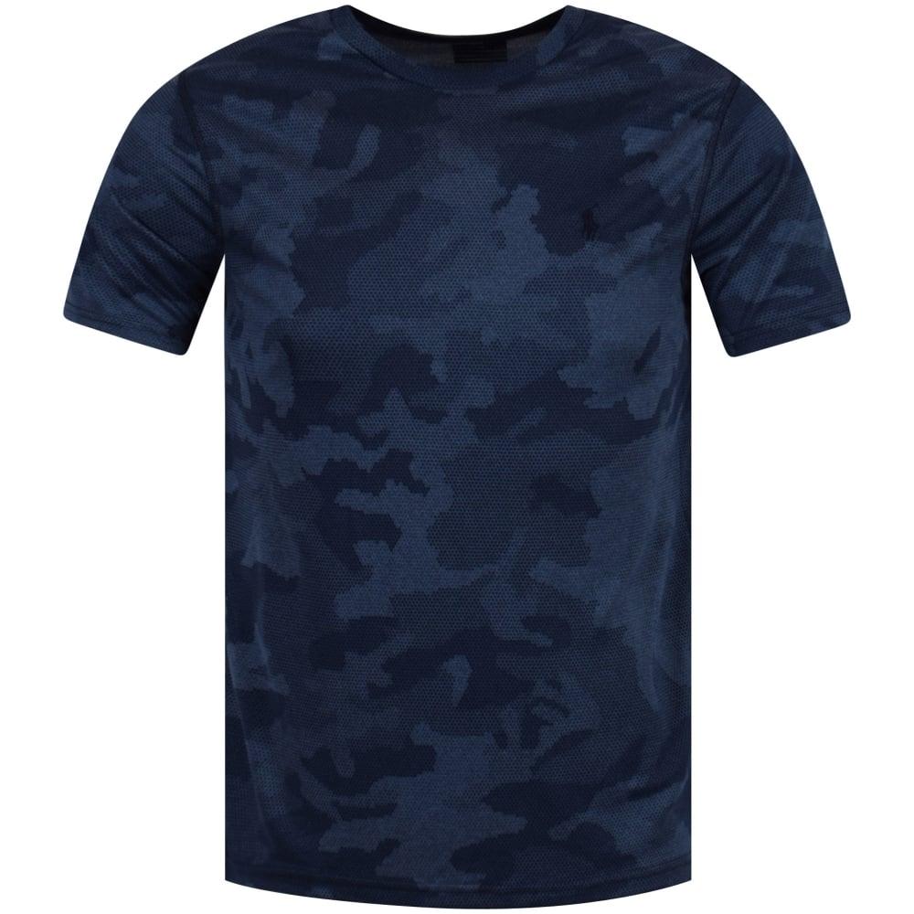 66ddf48b POLO RALPH LAUREN Polo Ralph Lauren Navy Camo Logo T-Shirt - T ...