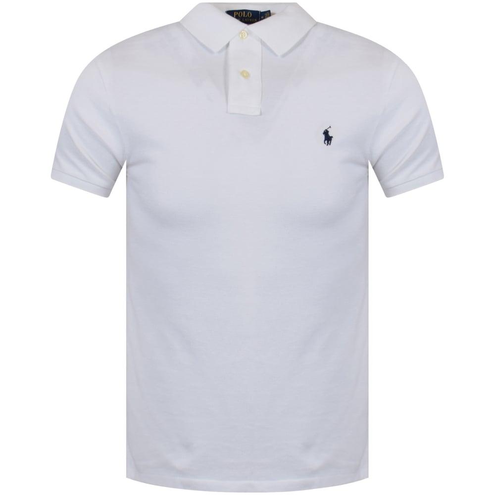 POLO RALPH LAUREN Polo Ralph Lauren White Short Sleeve Polo Shirt
